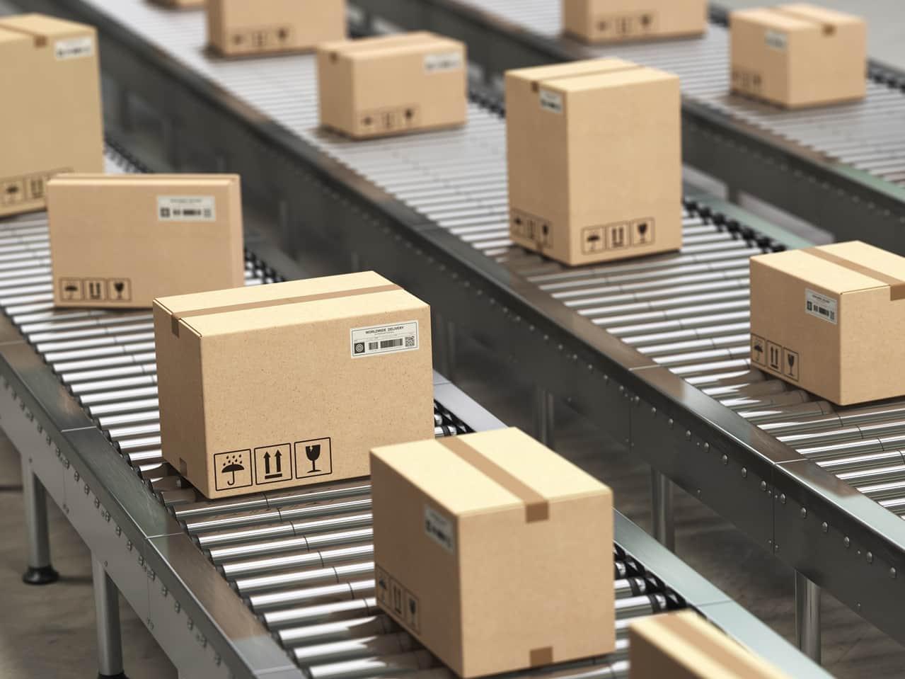 sledování balíku